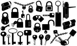 Locks vector illustration