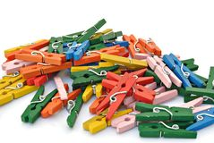Locks colors Royalty Free Stock Photo