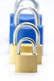 Locks, concept of business problem Stock Photos