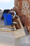 Locks on the gates Stock Photo