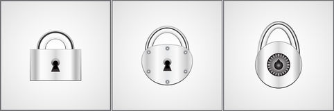 Locks Royalty Free Stock Photos