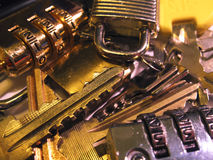 Locks and keys Stock Images