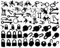 Locks and keys. Stock Photography