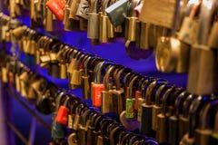 Locks of love Royalty Free Stock Photo