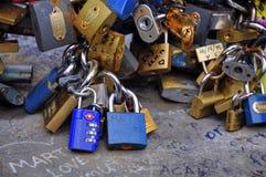 Locks of Love Stock Images