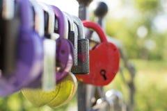 Locks of love Royalty Free Stock Photography