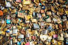 Locks of love Stock Photography