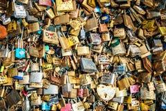 Locks of love Stock Photography