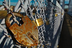Locks of Love Stock Images