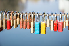 Locks of Love. Symbol for everlasting friendship stock image