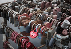 Locks of love. Royalty Free Stock Images