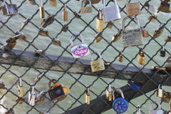 Locks in Pais Royalty Free Stock Photography