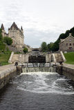Locks of Rideau Canal, Ottawa Royalty Free Stock Image