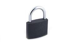 Locksmith. Closed blue locksmith without key isolated on white background stock photos