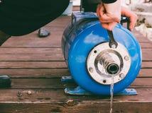Locksmith plumber Royalty Free Stock Image