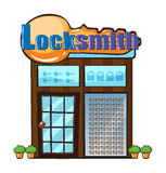 Locksmith sklep ilustracji