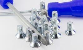 Locksmith tools Royalty Free Stock Image