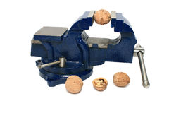 Locksmith vise. Royalty Free Stock Image