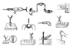 Locksmith work Stock Photo