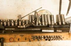 Locksmithery, instalatora ` s sklep Zdjęcia Stock