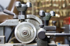 Locksmiths Machine Stock Photo