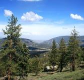 Lockwood Valley Panorama Royalty Free Stock Image