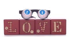Loco en amor Foto de archivo libre de regalías