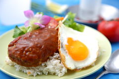 Loco moco Stock Photo