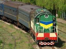Locomotief. Stock Afbeeldingen