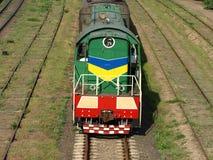 Locomotief. Royalty-vrije Stock Foto