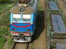 Locomotief. Royalty-vrije Stock Foto's