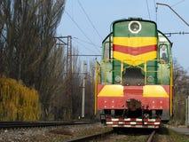 Locomotief. Royalty-vrije Stock Fotografie