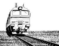 Locomotief stock illustratie
