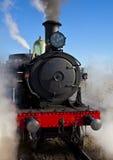 Locomotief 3016 van de stoom bij het Station van Canberra Royalty-vrije Stock Foto