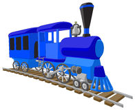 Locomotief Stock Foto
