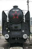 Locomotief cccp Royalty-vrije Stock Fotografie