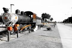 locomotief in Porto Velho, Rondônia, Brazilië royalty-vrije stock fotografie