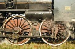 Locomotief, wielen Royalty-vrije Stock Afbeelding