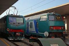 Locomotieven Royalty-vrije Stock Foto's