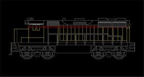 Locomotion Illustration Stock