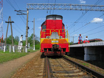 locomotiva immagine stock