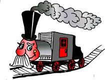 Locomotiva allegra Immagine Stock Libera da Diritti