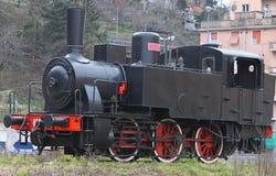 Locomotiva antica Immagine Stock