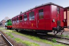 Locomotiva, Brno, Moravia sul, república checa Fotos de Stock Royalty Free