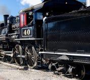 Locomotiva con offerta Fotografia Stock