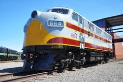 Locomotiva de diesel Fotos de Stock Royalty Free