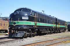Locomotiva de diesel Fotografia de Stock