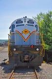 Locomotiva de diesel da estrada de ferro de Lackawanna, Scranton, PA, EUA imagens de stock