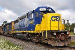 Locomotiva de diesel de CSX Imagens de Stock Royalty Free