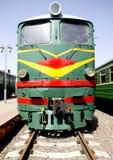 Locomotiva de diesel velha 2 Foto de Stock Royalty Free